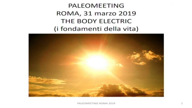 The Body Electric: i fondamenti della vita – Ing. Angelo Rossiello