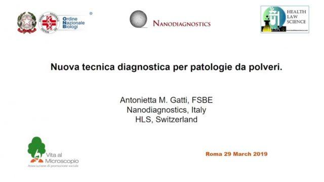 Tecniche di nanodiagnostica – Dott.ssa Antonietta Gatti