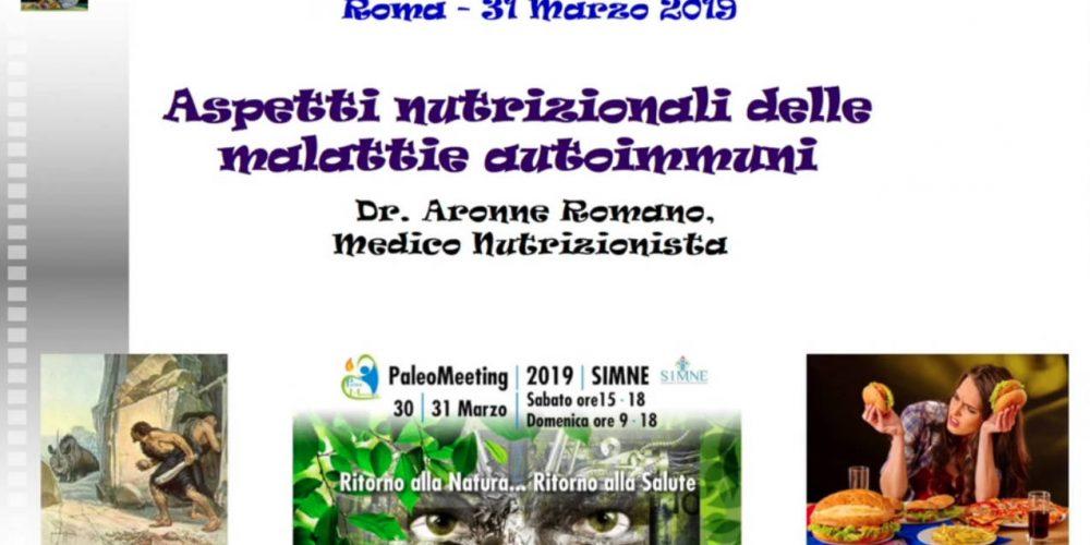 Aspetti nutrizionali nelle malattie autoimmuni